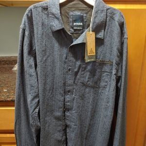 Men's XL Prana long sleeve shirt